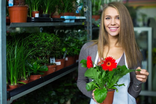 Florists and retailer customers are VoIP calling